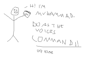 THE VOICES COMMAND IT