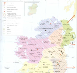 Early Christian Ireland AD 400-700.